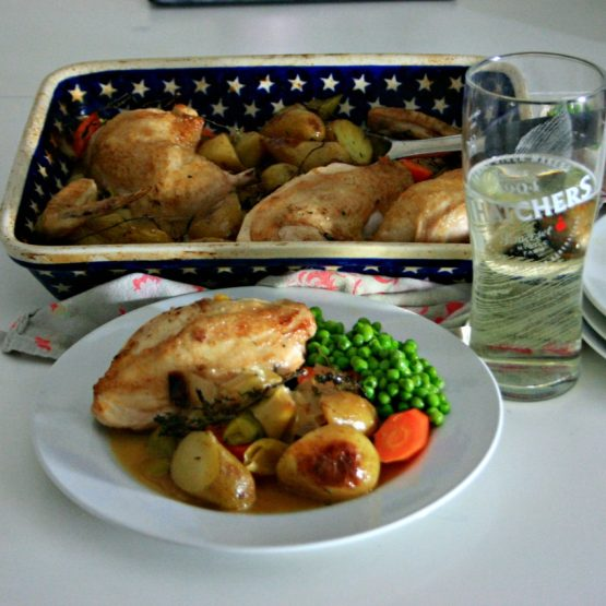Cider Chicken Bake