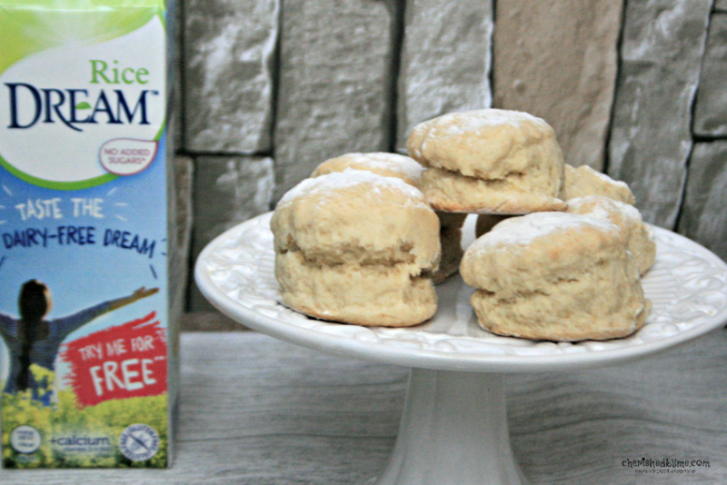 Dairy free scones