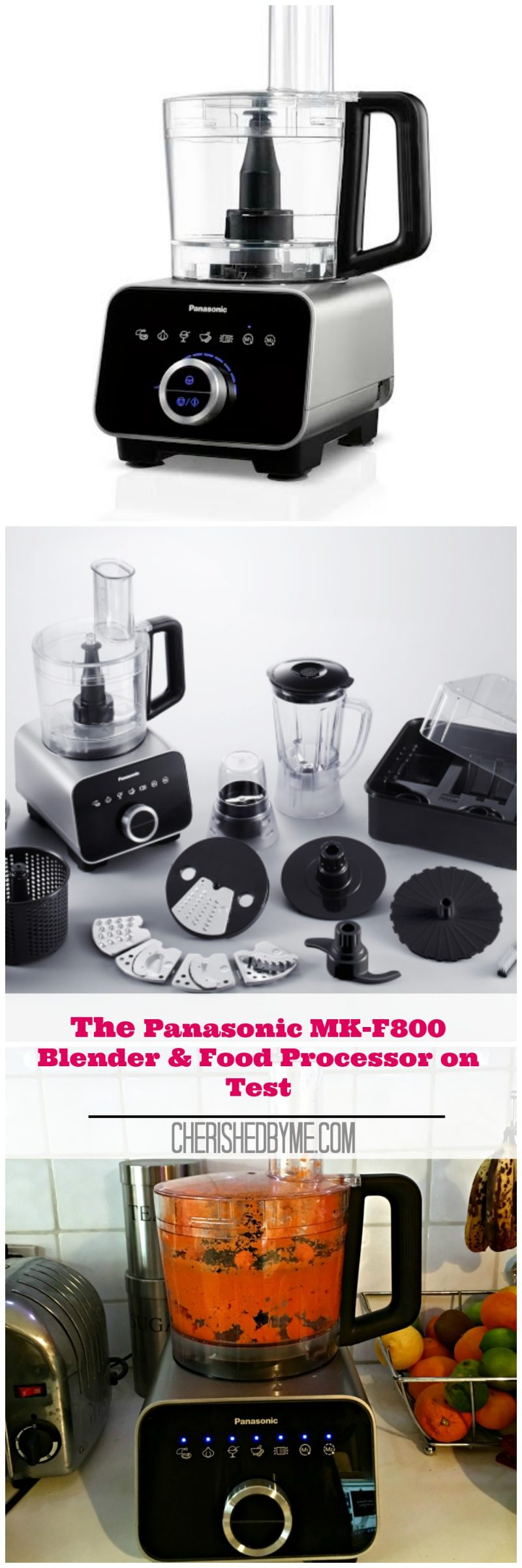 Panasonic MK-F800 Blender & Food Processor