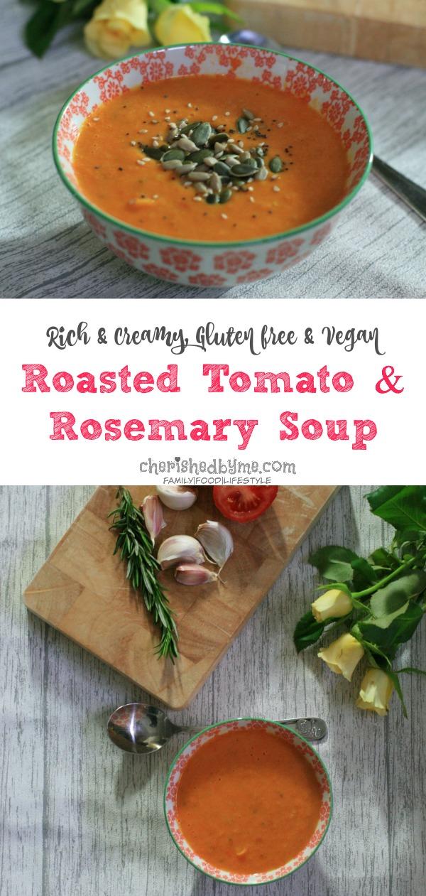 tomato & rosemary soup