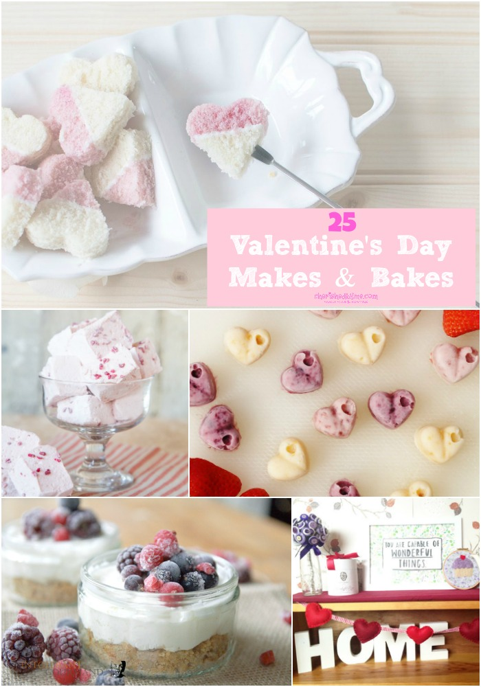 Valentine's day makes and bakes