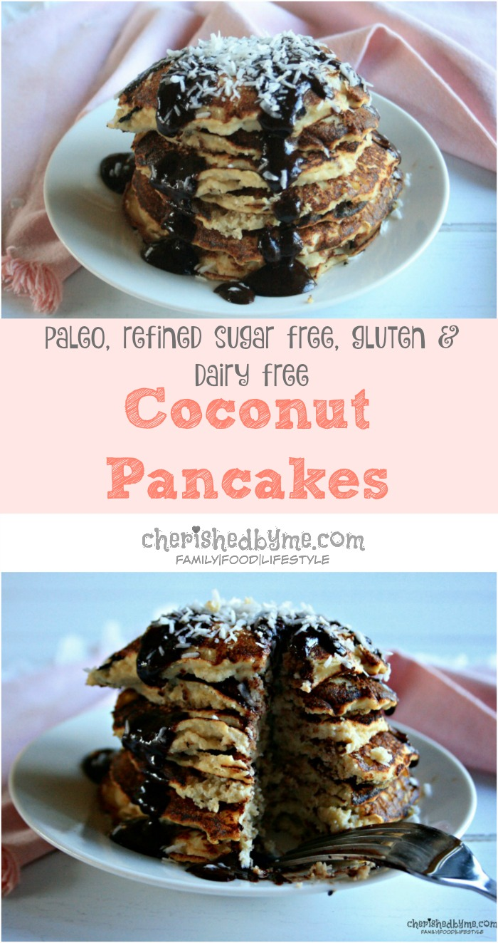 Coconut pancakes refined sugar free dairy gluten free disclosure post written in partnership with hob pride but recipe and all words and opinions are my own ccuart Gallery