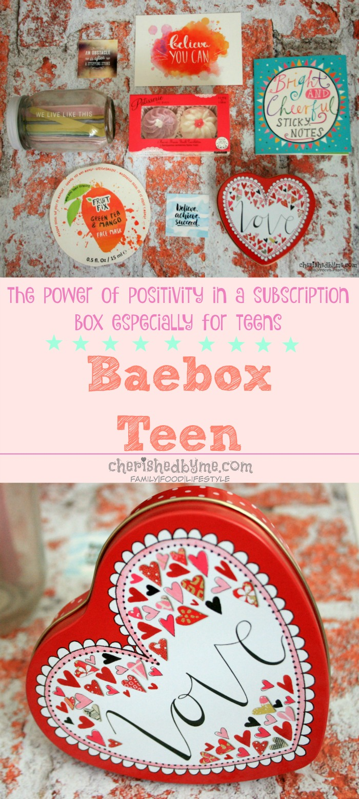 subscription box for teens- Baebox Teen