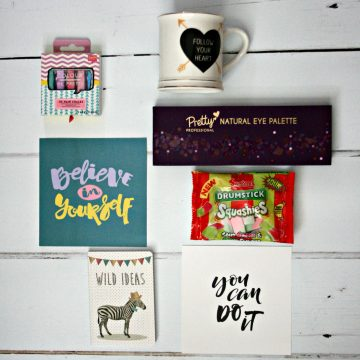 A teen subscription box from Baebox