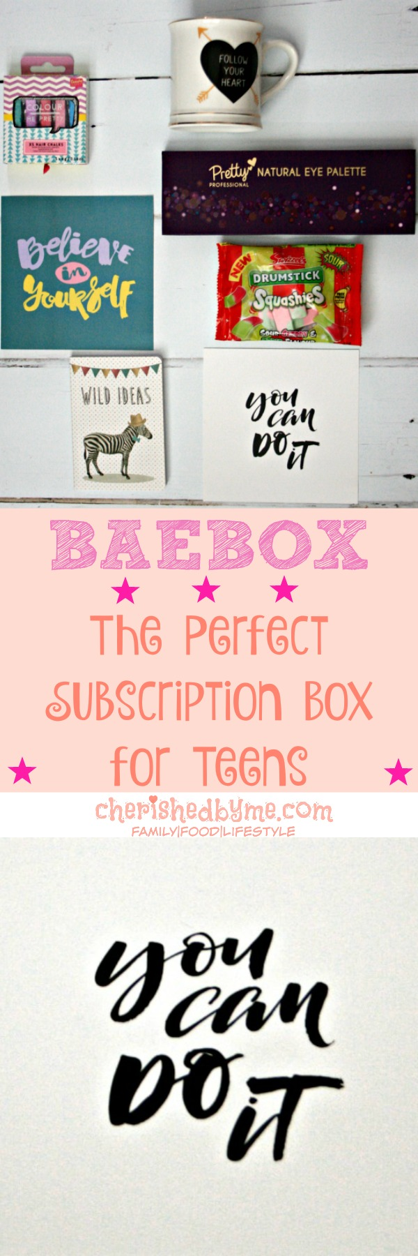 Subscription box for teens