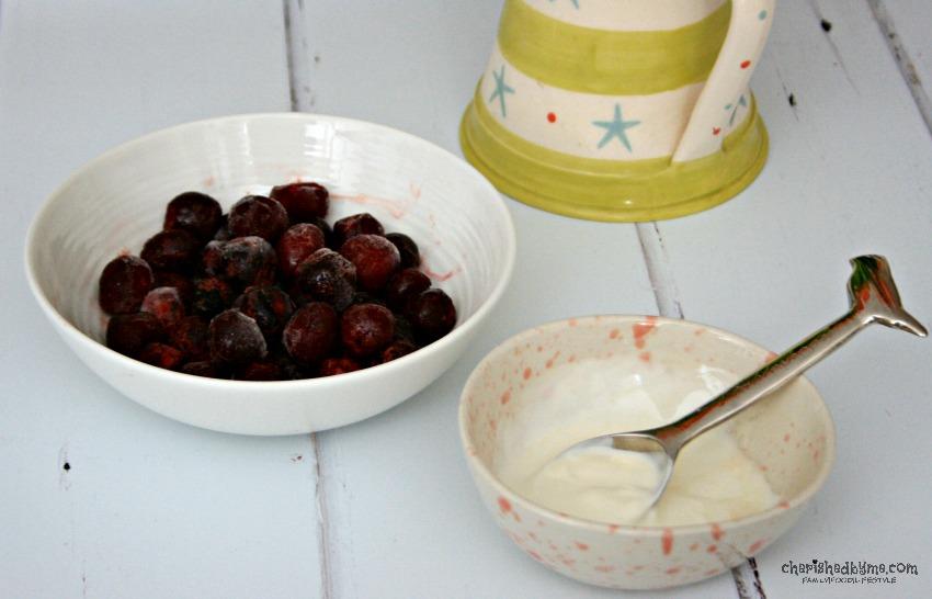 Cherry Vanilla Iced Dessert